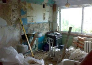 Демонтаж в старом фонде под ваш новый ремонт
