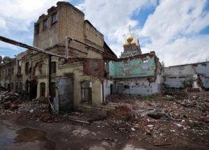 снос зданий и строений в СПб